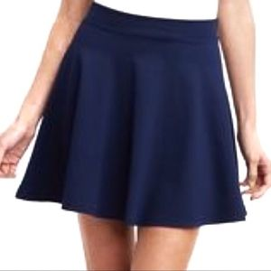 🔴 ONE CLOTHING NORDSTROM NAVY SKATER SKIRT